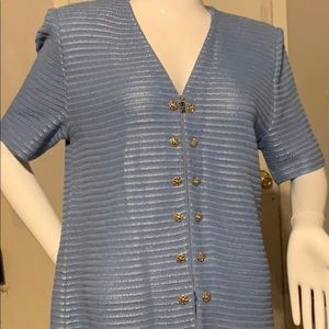 Vintage St. John Collection Marie Gray Cardigan 8